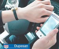 conductores adictos al móvil