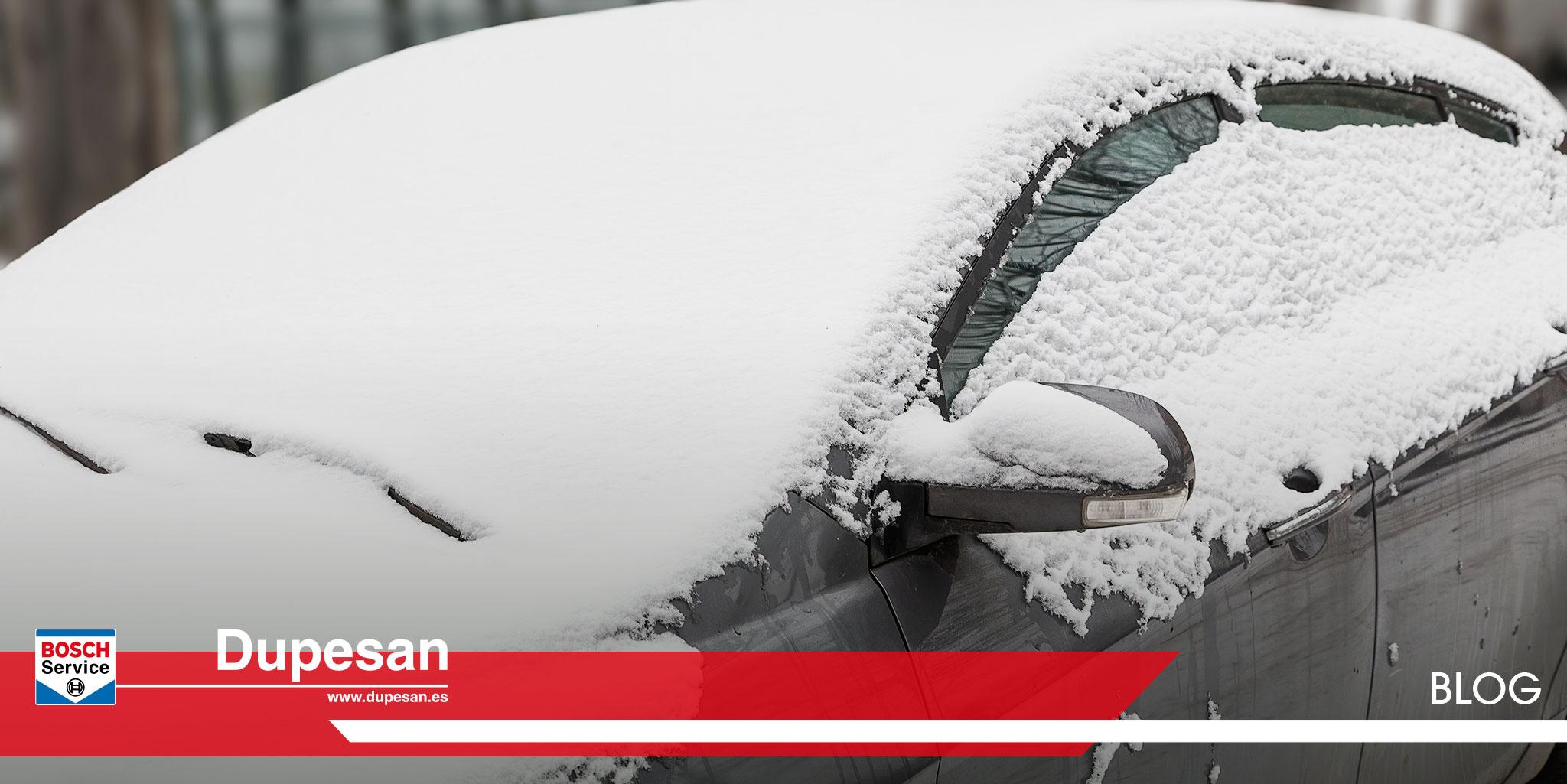 cómo afecta el frío al coche
