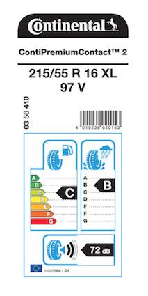 etiqueta - neumáticos