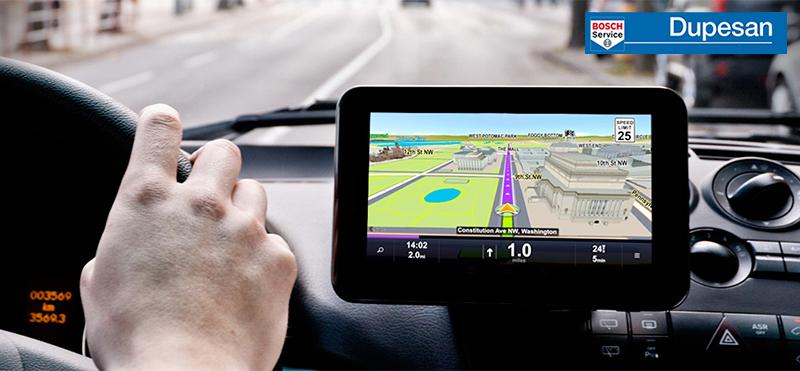 GPS en la carretera